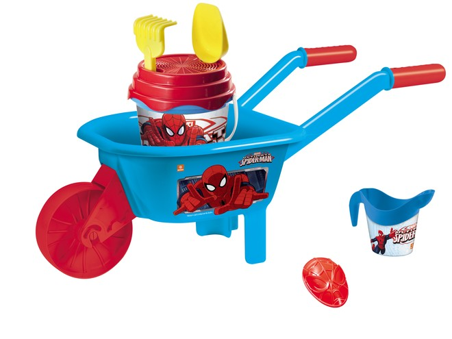 18428 - SPIDER-MAN WHEELBARROW SET