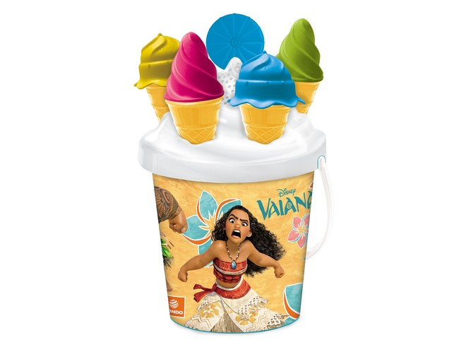 28446 - VAIANA ICE CREAM BUCKET SET